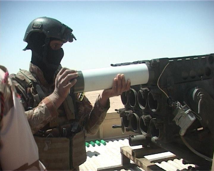 이라크 육군의 미니 다련장 - 유용원의 군사세계
