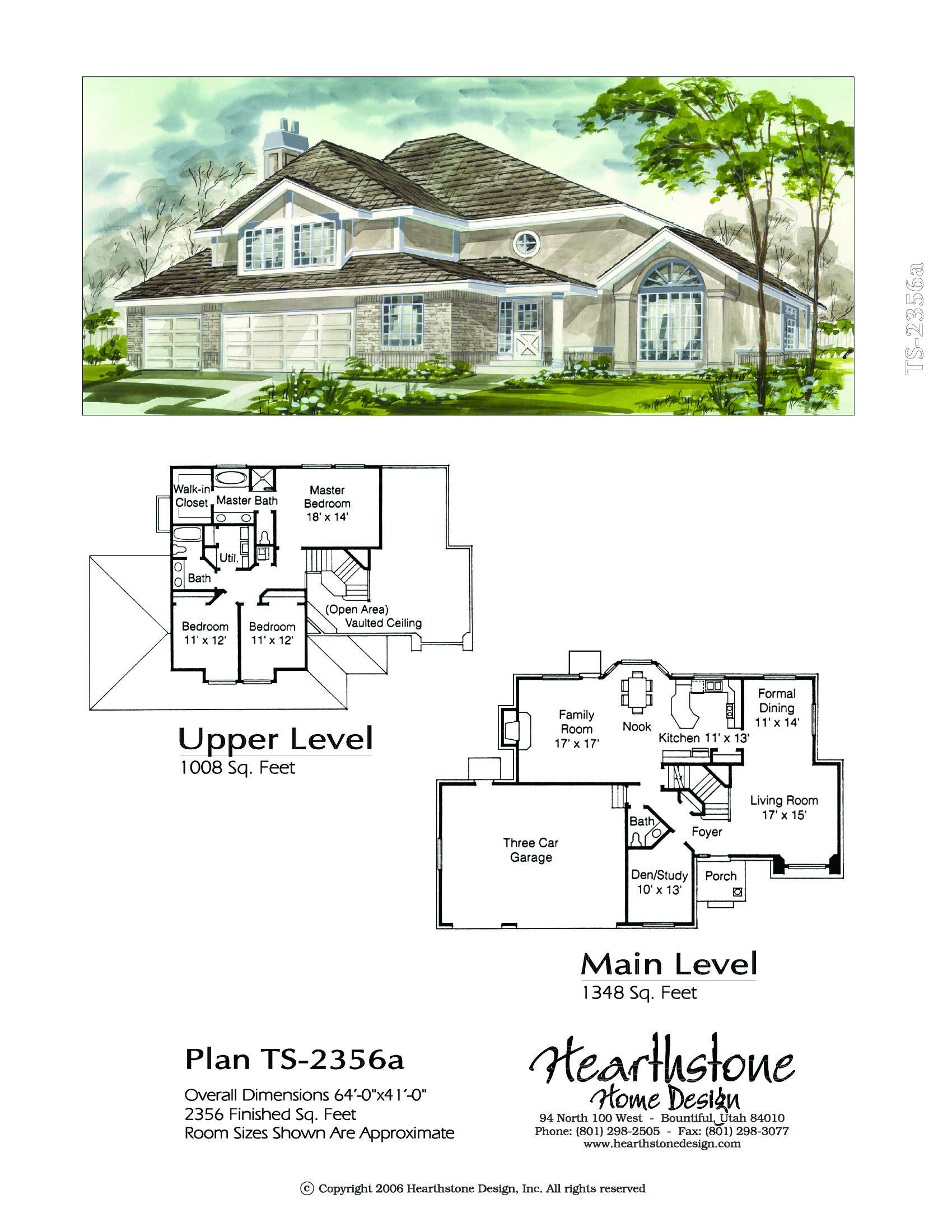 Ts 2356a How To Plan Two Story Homes Story Planning