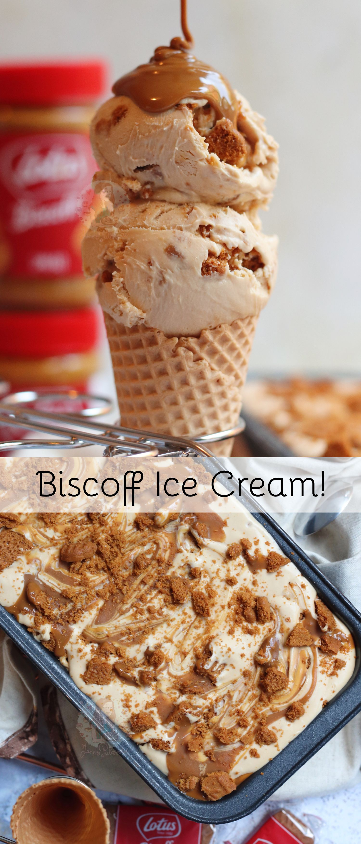 Biscoff Ice Cream!