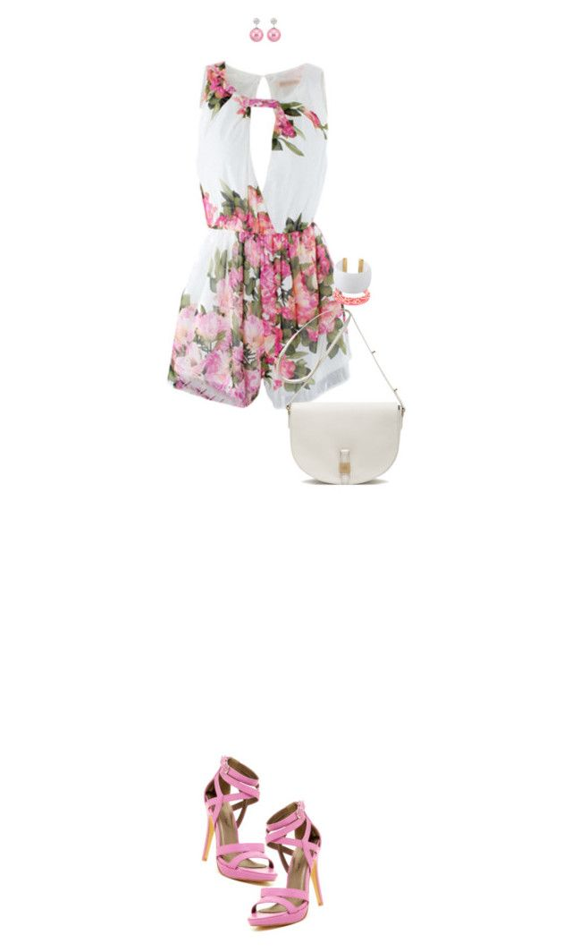 """""""Playsuit"""" by ittie-kittie ❤ liked on Polyvore"""