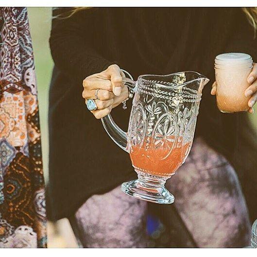 Our @ktwesupplies boho glass jugs & mason jars working a treat at the @violetgraydesign range launch Image by @klee_photography X #Alamango #Bridal #Textiles #Wedding #AlamangoBridal #AlamangoTextiles #Malta #LoveMalta #Bridesmaid #WeddingDress