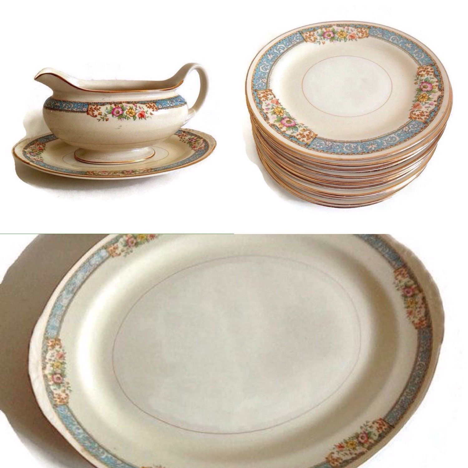 Discontinued China Patterns  sc 1 st  Pinterest & Discontinued China Patterns | Vintage Dinnerware- Plates~Dinner ...