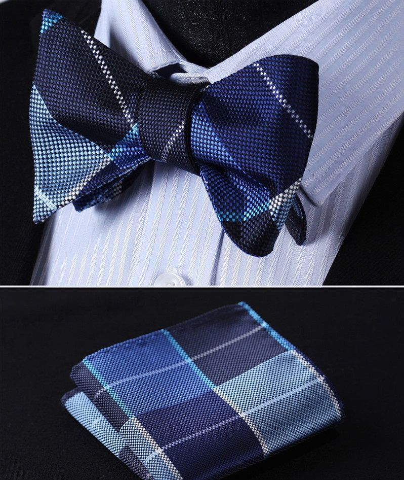 Pin By Kensley Valcin On Mens Fashion Tie And Pocket Square Bow Tie Set Ties Mens