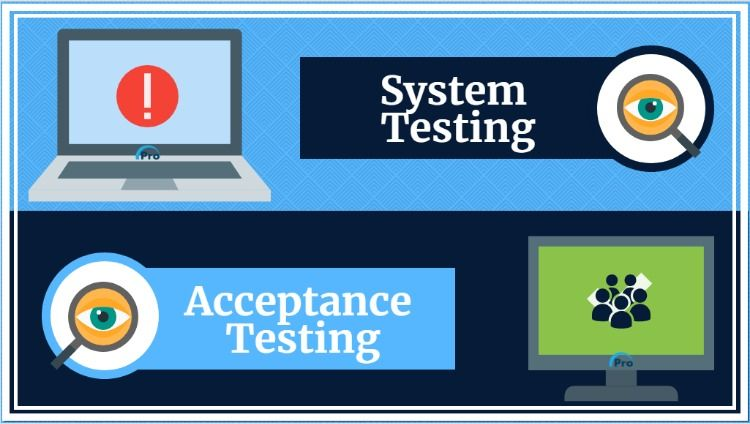 System Testing And Acceptance Testing Are Forms Of Dynamic
