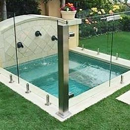Glass Fencing Isn T Just For Pools We Designed This Custom Glass Hot Tub Fence For A Client In Newport Beach Ca Our Sel Glass Tub Hot Tub Glass Pool Fencing