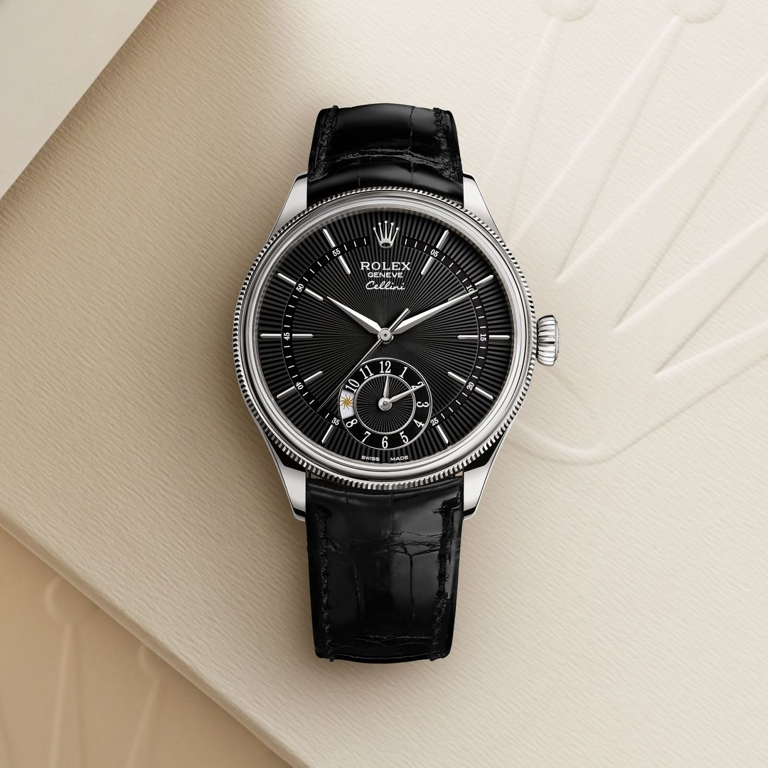 Rolex Cellini Dual Time In 2020 Rolex Cellini Rolex Watch Price Rolex Watches For Men