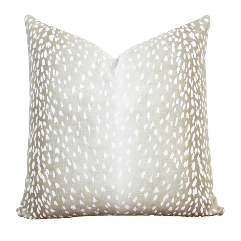 Antelope Pillow Cover Fawn Animal Print Pillow Cover 20 X Etsy Animal Print Pillows Printed Pillow Pillow Covers 20 x 20 pillow insert
