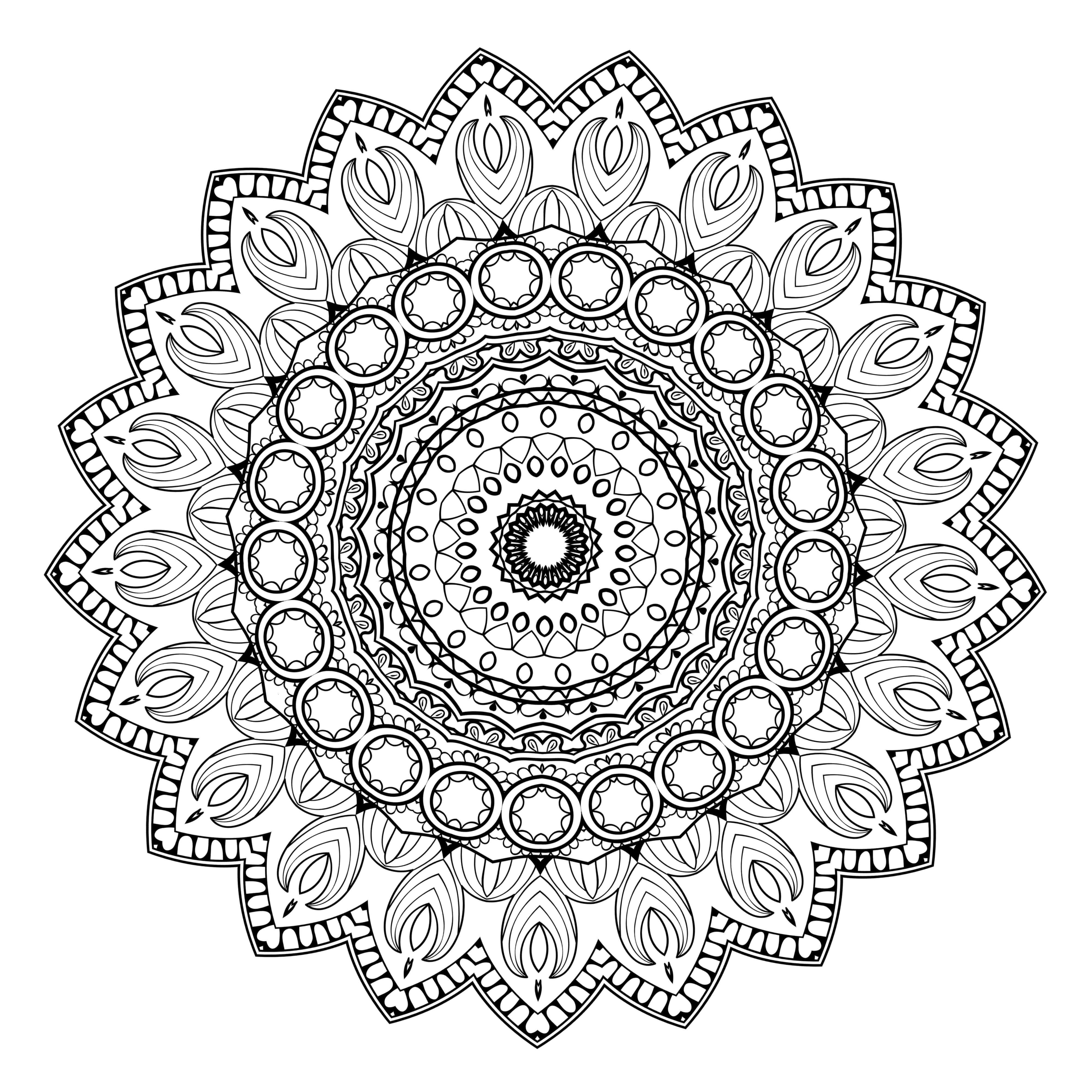 Lifestyle And Productivity The Maven Circle Printable Coloring Pages Free Coloring Pages Mandala Coloring Books