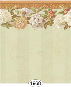 Victorian Rose Wallpaper Border Floral Wallpaper