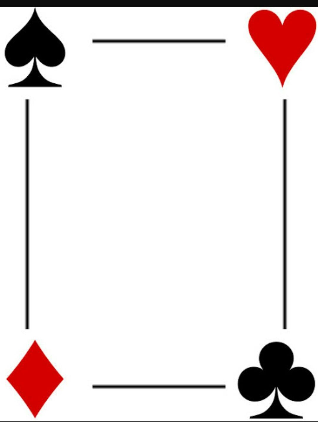 Card Templates Vegas Theme Party Casino Birthday Party Casino