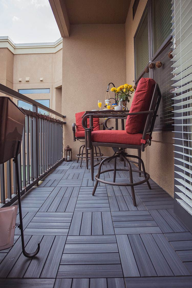 Best 5 Ideas for Covering Your Deck | Patio, Small balcony ...