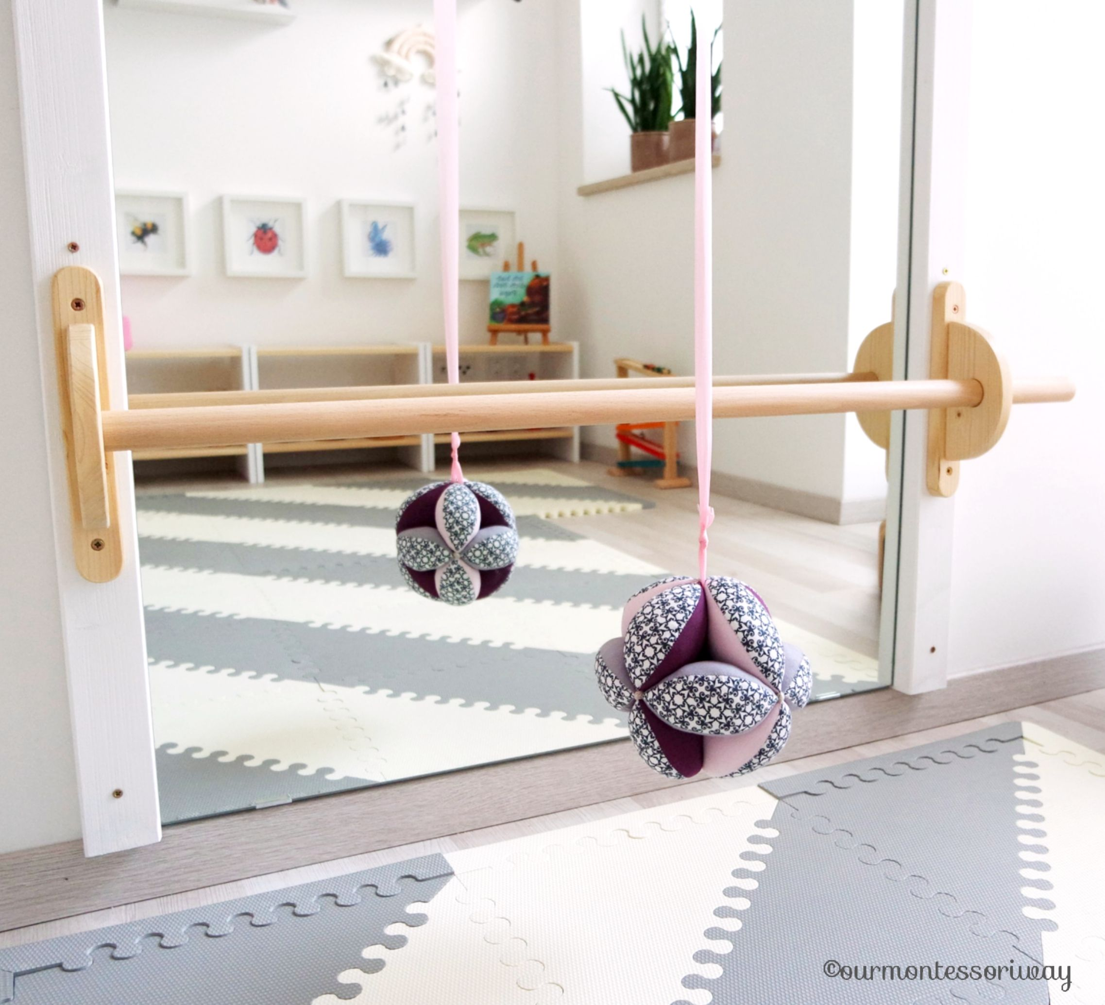 Photo of Montessori Babyzimmer, Montessori Kinderzimmer: Montessori Bewegungsbereich