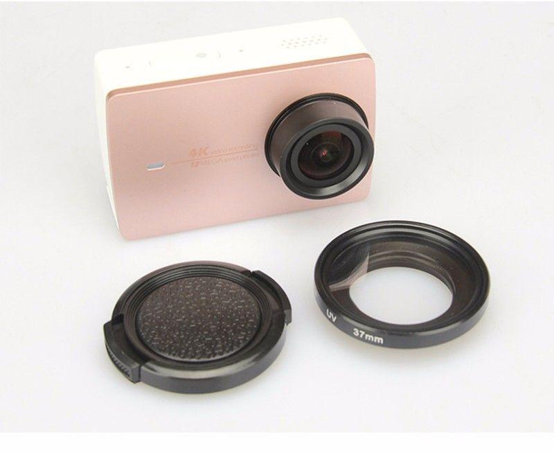 xiaomi yi 4K 2 action sport camera 37mm UV filter lens lens