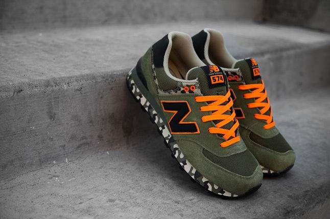 Military Camo Pack Army Green Black Orange ML574CGR - The Mens New Balance