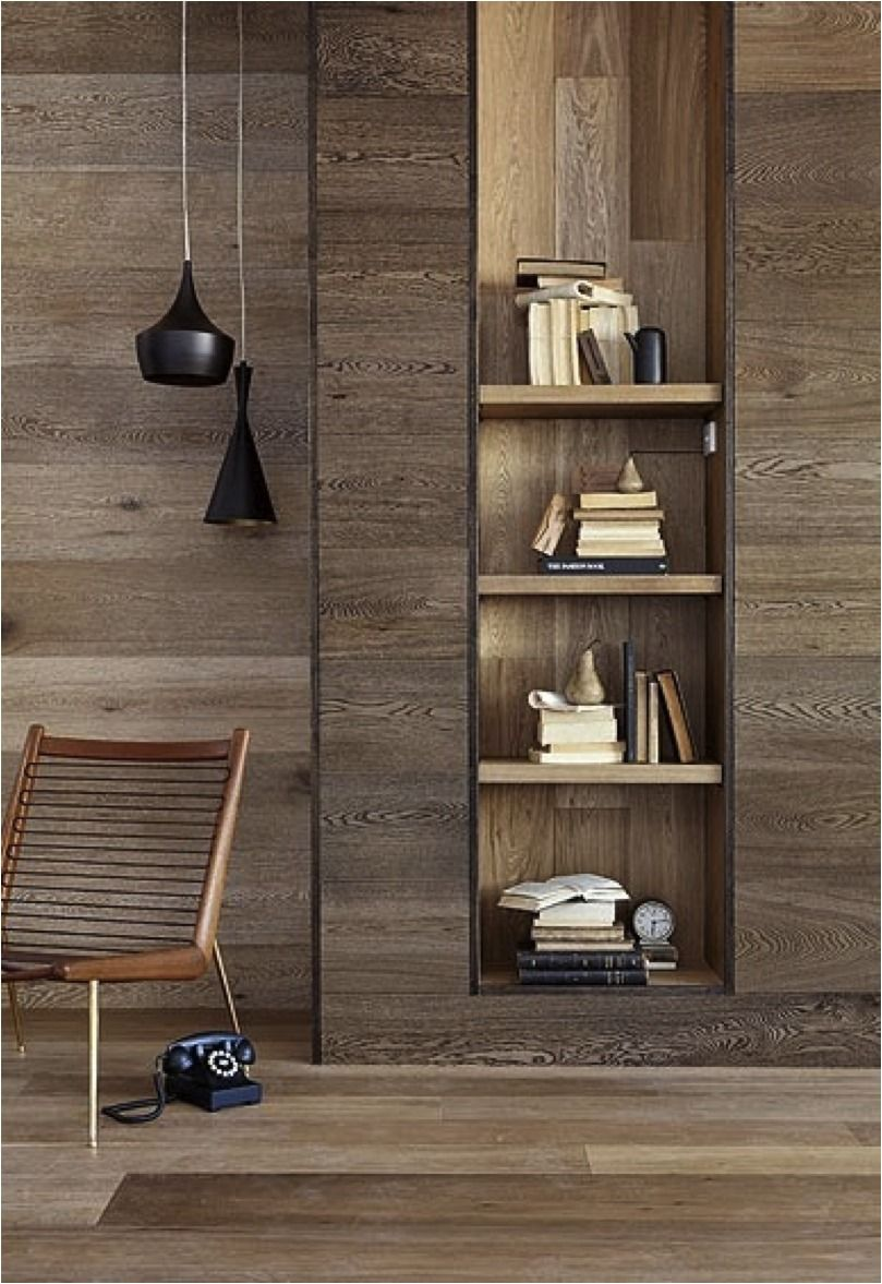 I Wonder How The Cost Of Wooden Wall Panelling Compares To The Cheaper Laminated Floor Boards Interior Interior Design House Interior