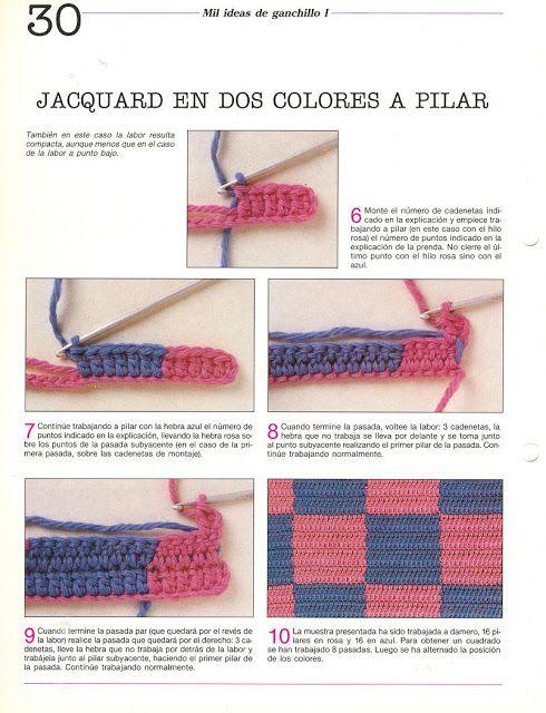http://patrones-asgaya.blogspot.com.es/2012/12/jacquard-crochet.html ...