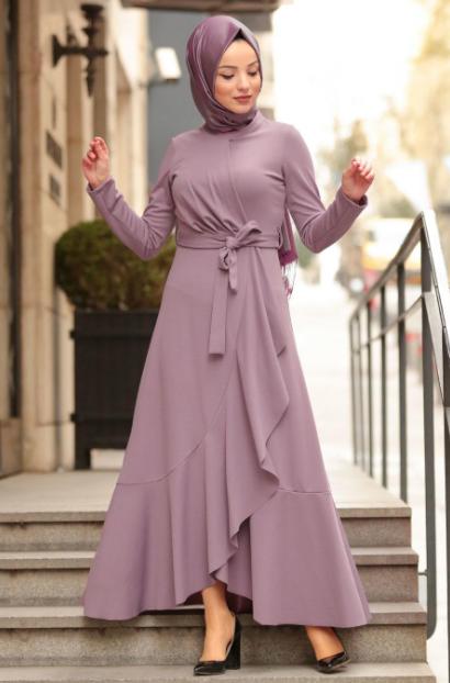Genc Tesettur Abiye Modelleri Tesettur Elbise Modelleri 2020 Aktif Moda Pakaian Pesta Model Baju Wanita Model Pakaian Hijab