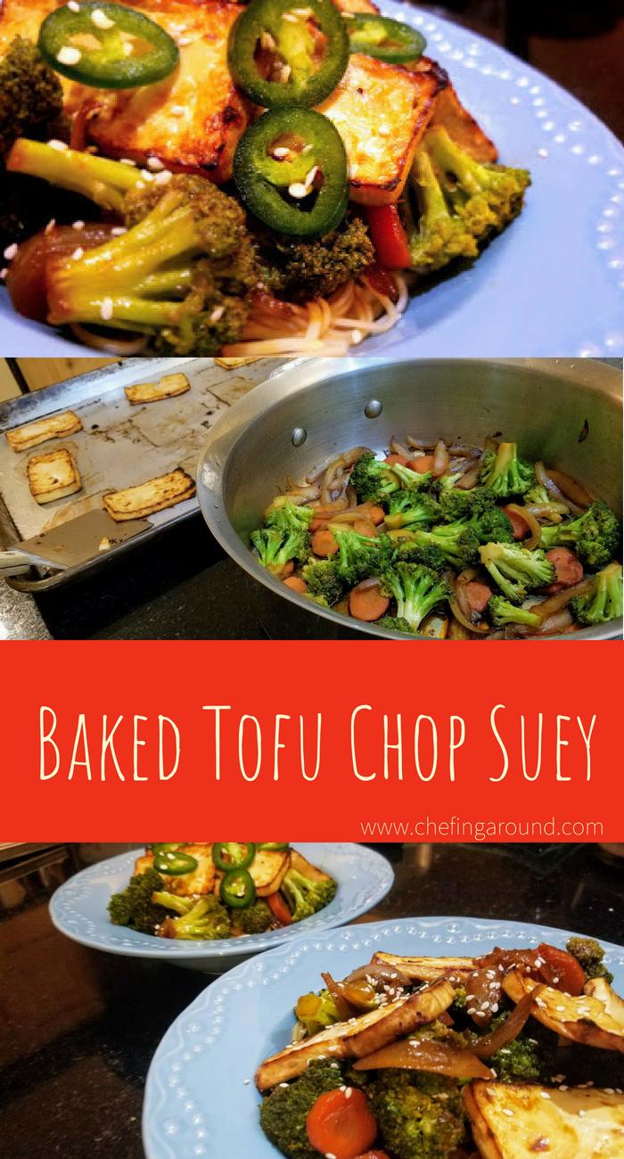Baked Tofu Chop Suey