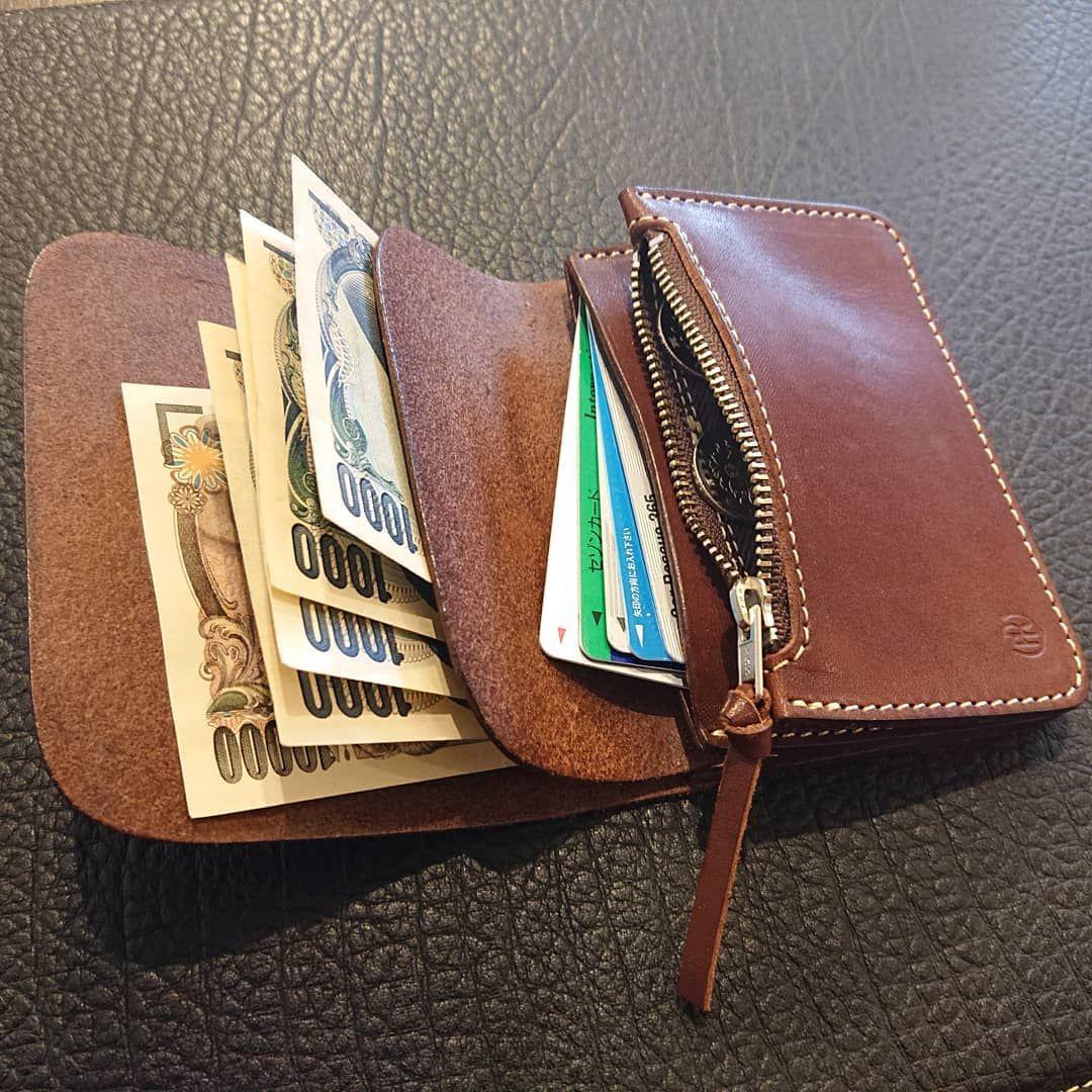 076de8d3a6d4 PAILOT RIVER ・PR-KUJIRA-MW シンプルでコンパクトなお財布です。 お尻 ...