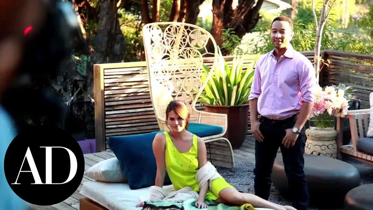 Inside John Legend and Chrissy Teigen's Los Angeles Home