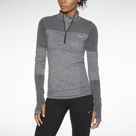 I found this Nike Dri-FIT Knit Long-Sleeve Half-Zip Women's Running Shirt  at Nike online.