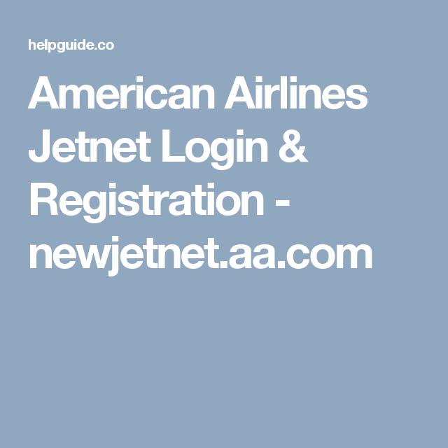 American airlines jetnet login registration newjetnetaa american airlines jetnet login registration newjetnetaa m4hsunfo