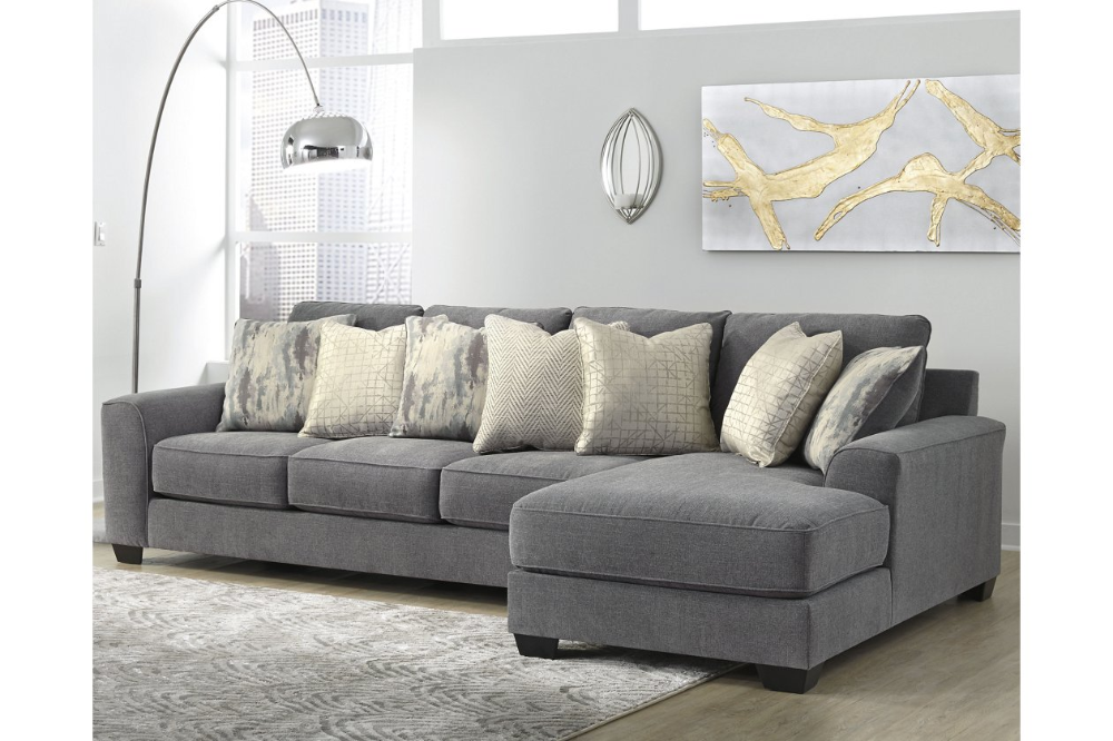 Castano 2 Piece Sectional With Chaise Ashley Furniture Homestore 3 Piece Sectional Sectional Sectional Chaise