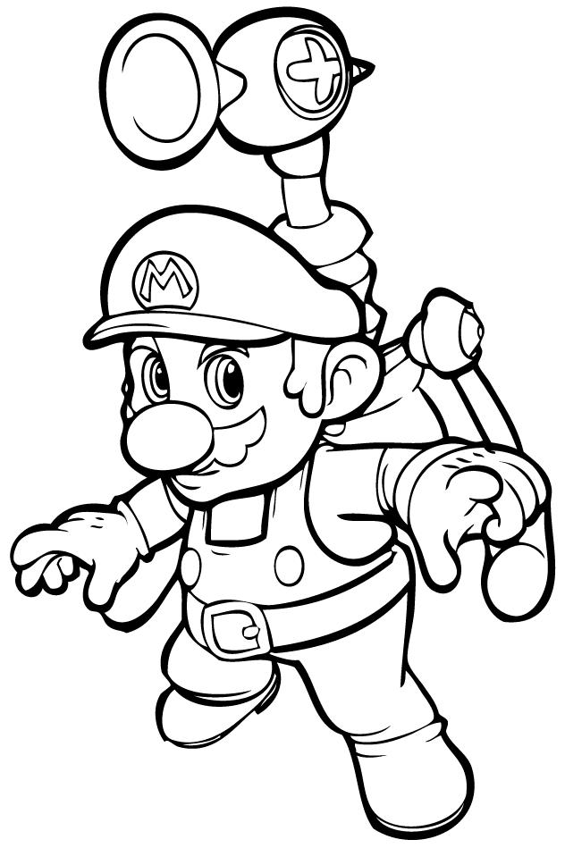 Coloring Page Mario Bros Video Games 24 Printable Coloring Pages In 2020 Super Mario Coloring Pages Super Coloring Pages Mario Coloring Pages
