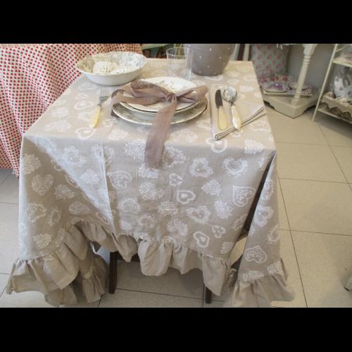 Tovaglie country sanotint light tabella colori for Tovaglie provenzali