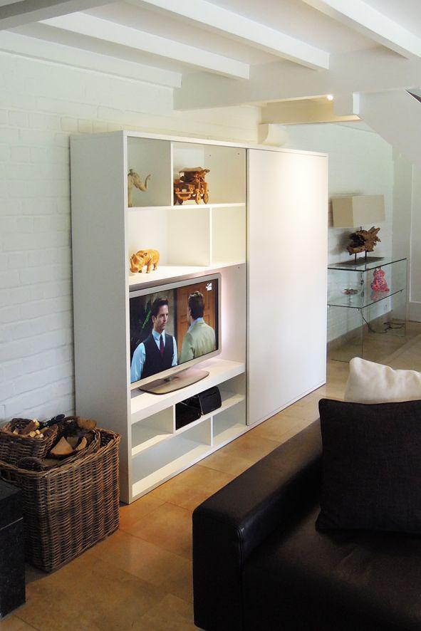 Meuble Tv Sur Mesure En Mdf Laque Home Decor Decor Home