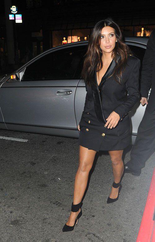 8700788692 Kim Kardashian Blazer Dress - Get the look from Get That Trend ...