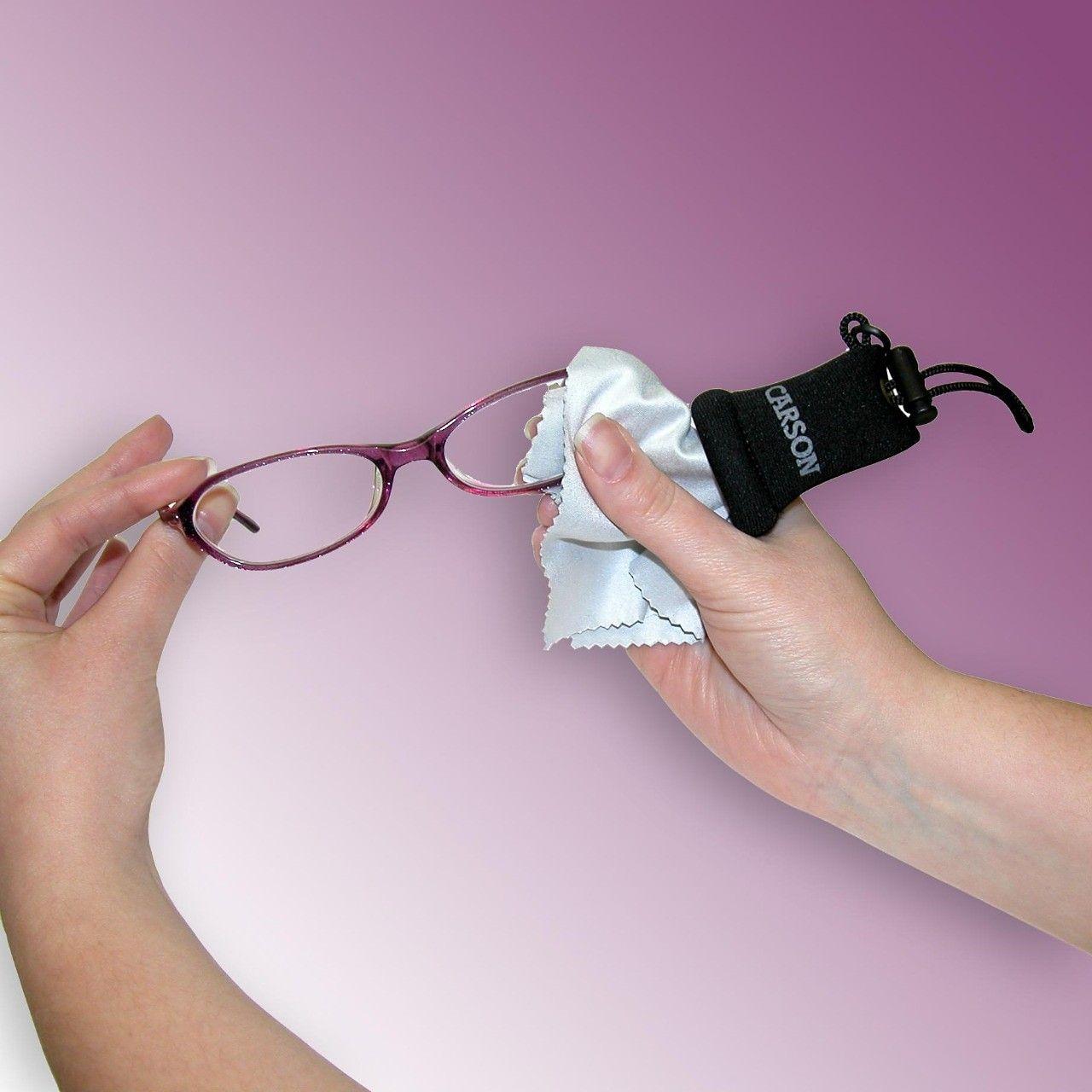 How to clean Eyeglasses properly? Lenses on the eye