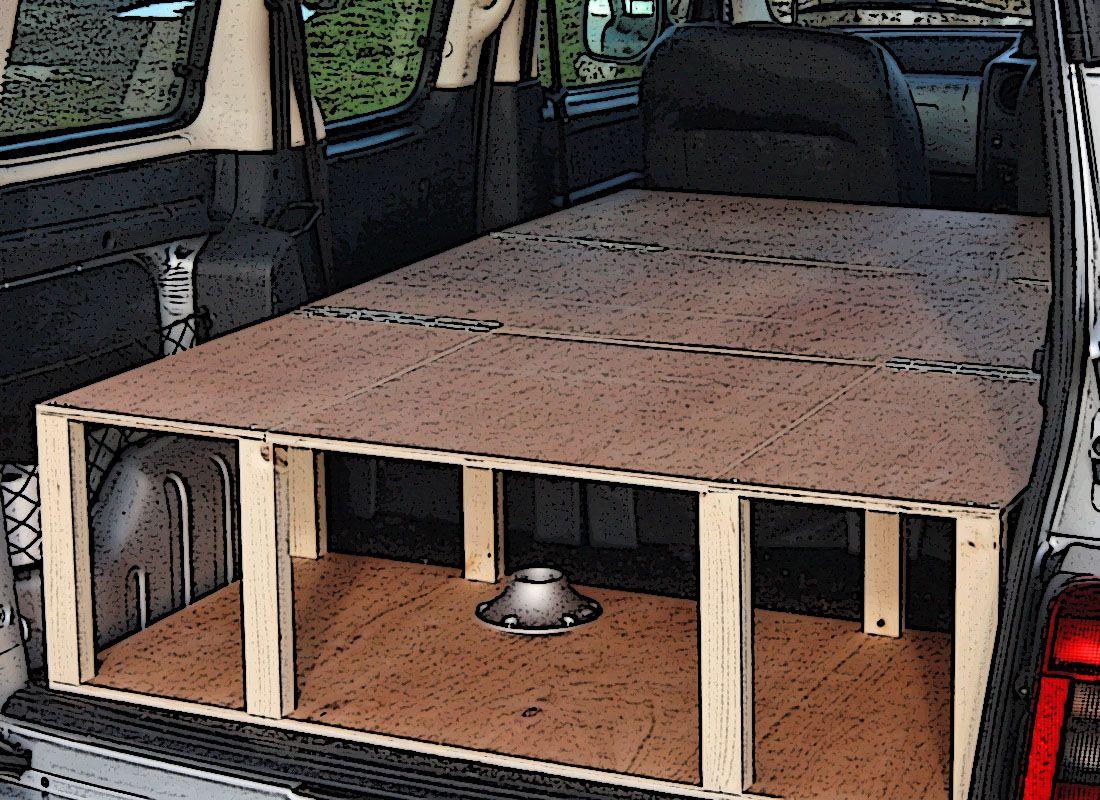 Citroen berlingo peugeot partner camper van conversion for Kit trasformazione furgone in camper