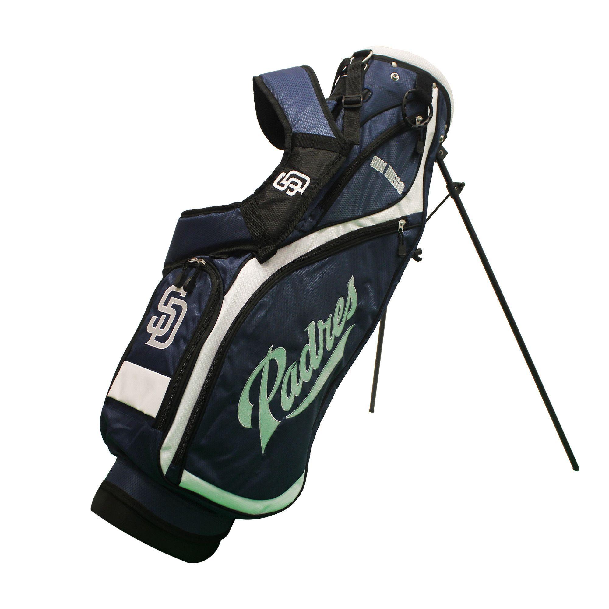 80ede65003c Team Golf San Diego Padres Nassau Golf Stand Bag. This Nassau Stand bag is a