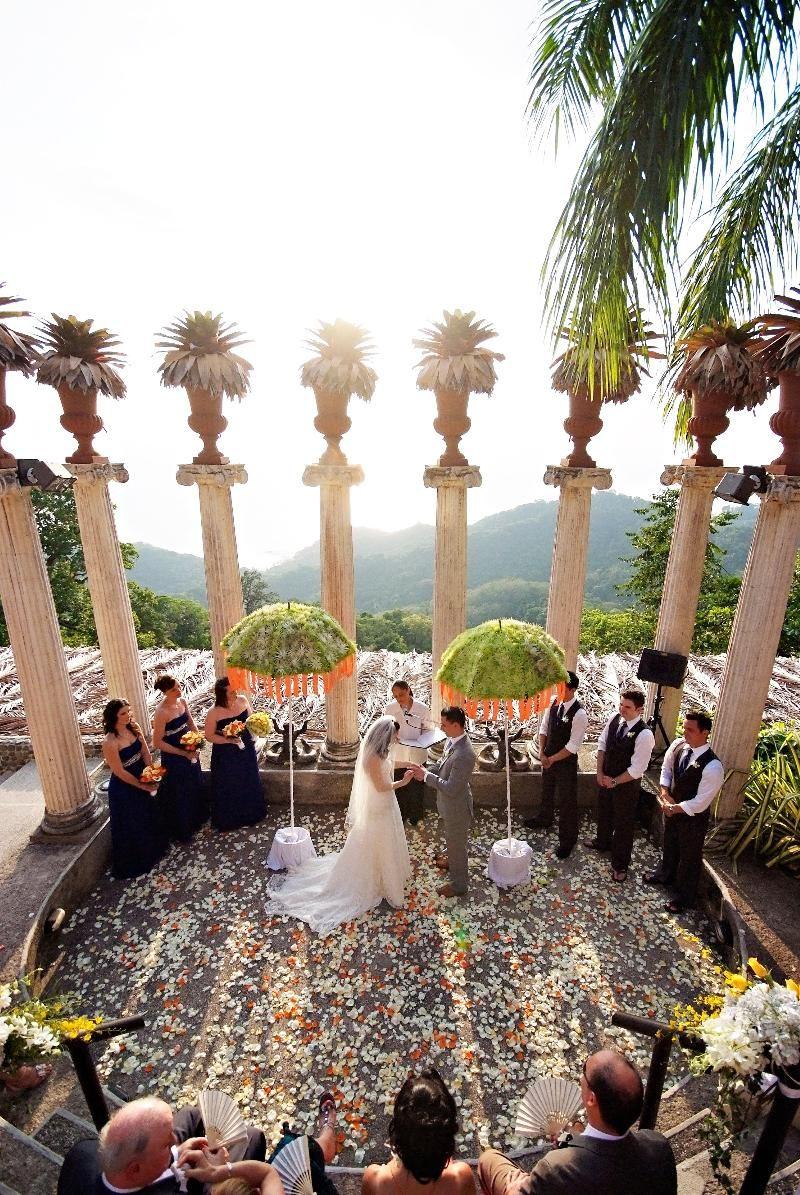 Villa Caletas Amphitheater Costa Rica The Perfect Wedding Ceremony Location For A Destinationwedding