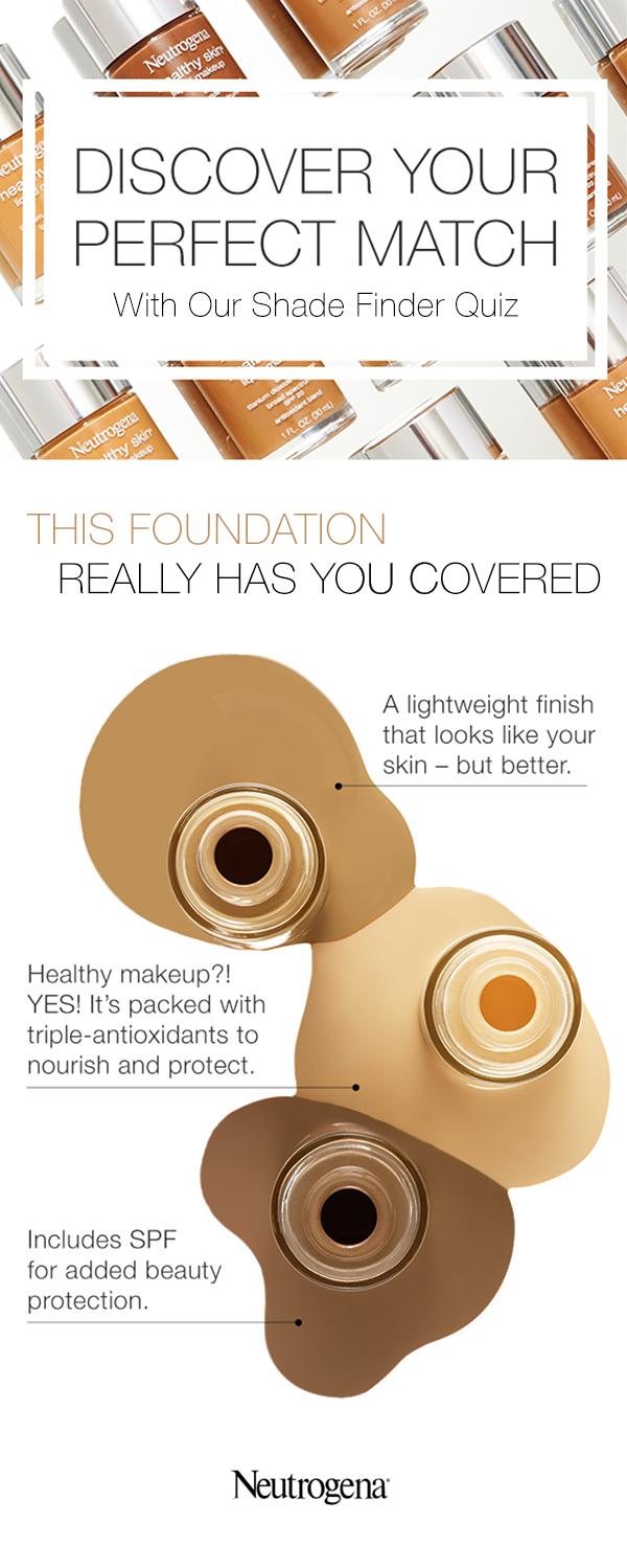 Makeup Shade Finder Quiz Neutrogena® Shade finder