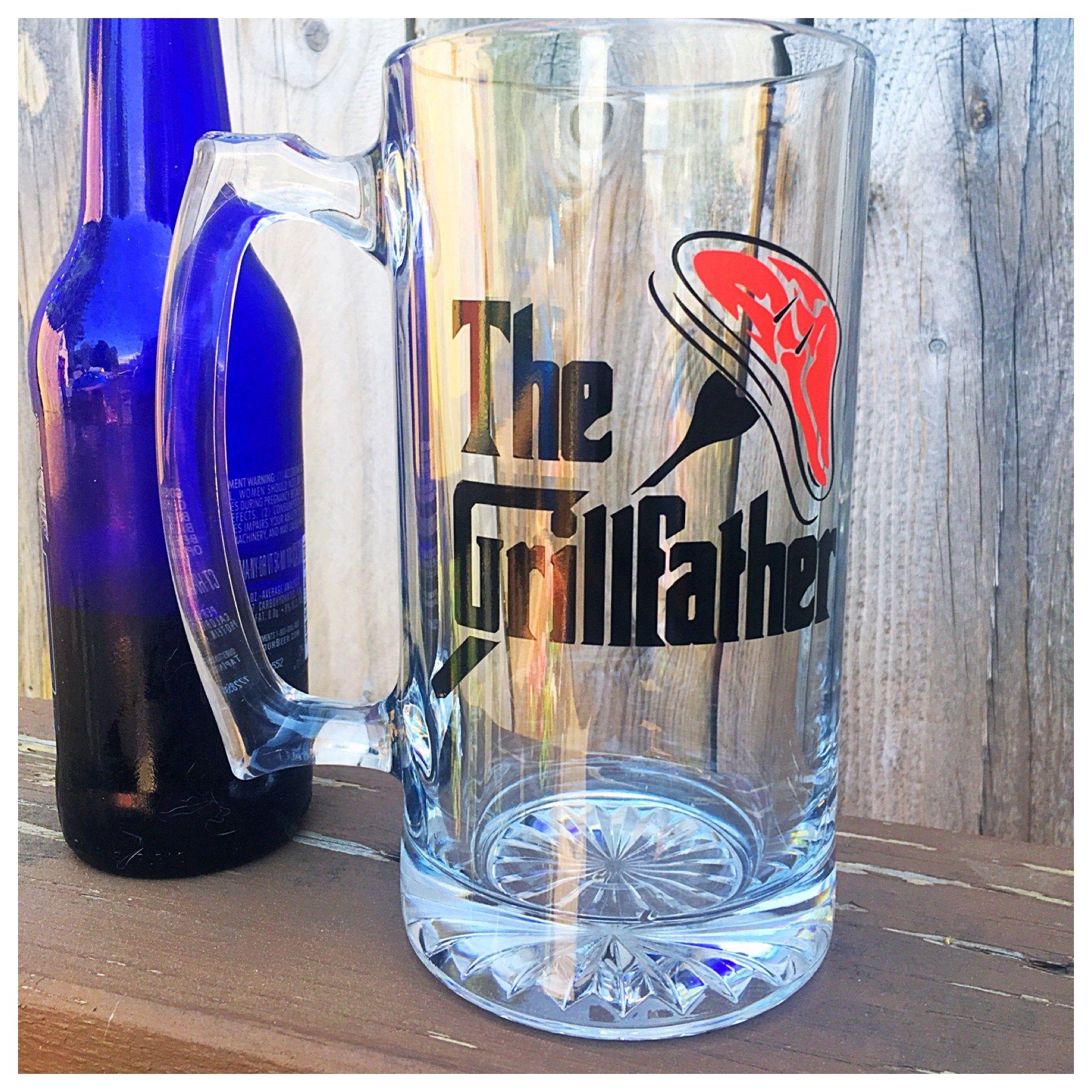 Beer mug for dad birthday beer mug for dad grill gift for