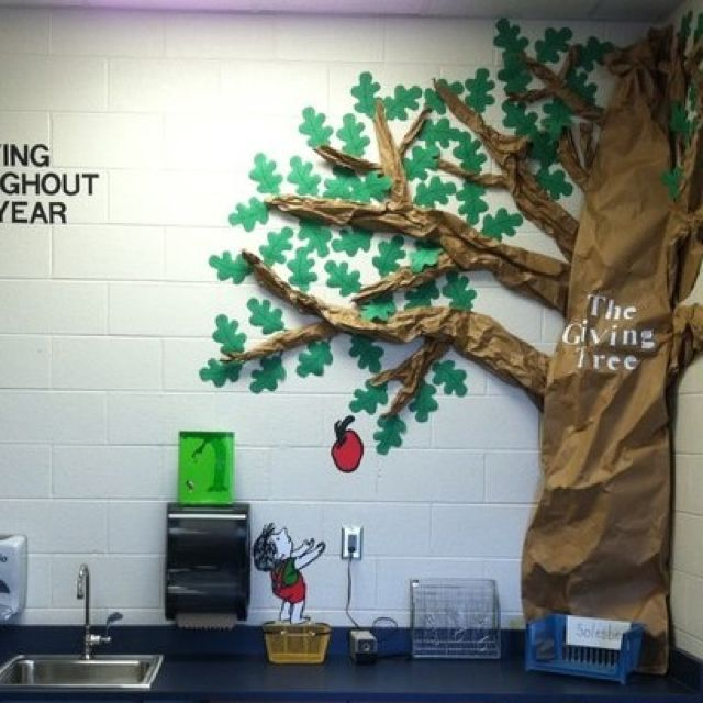 Classroom Tree Decorating Ideas ~ Quot the giving tree themed classroom where our focus is on
