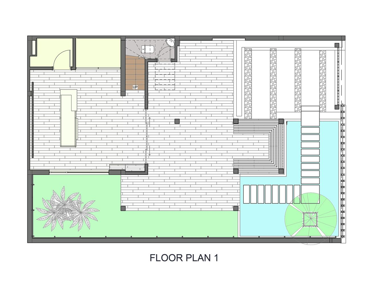 Gallery Of Growing Green Office Studio 102 19 Green Office Floor Plans Little House