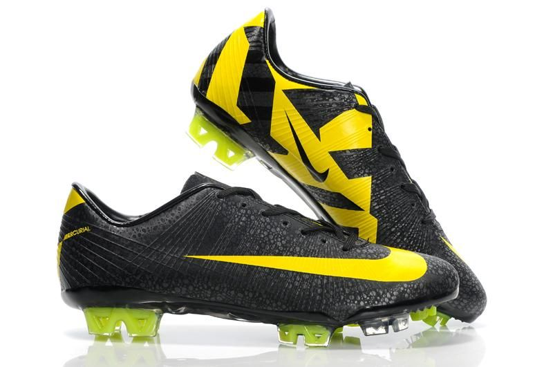 reputable site e9bbf 125db Nike CR Mercurial Vapor Superfly III FG Safari - Black Yellow
