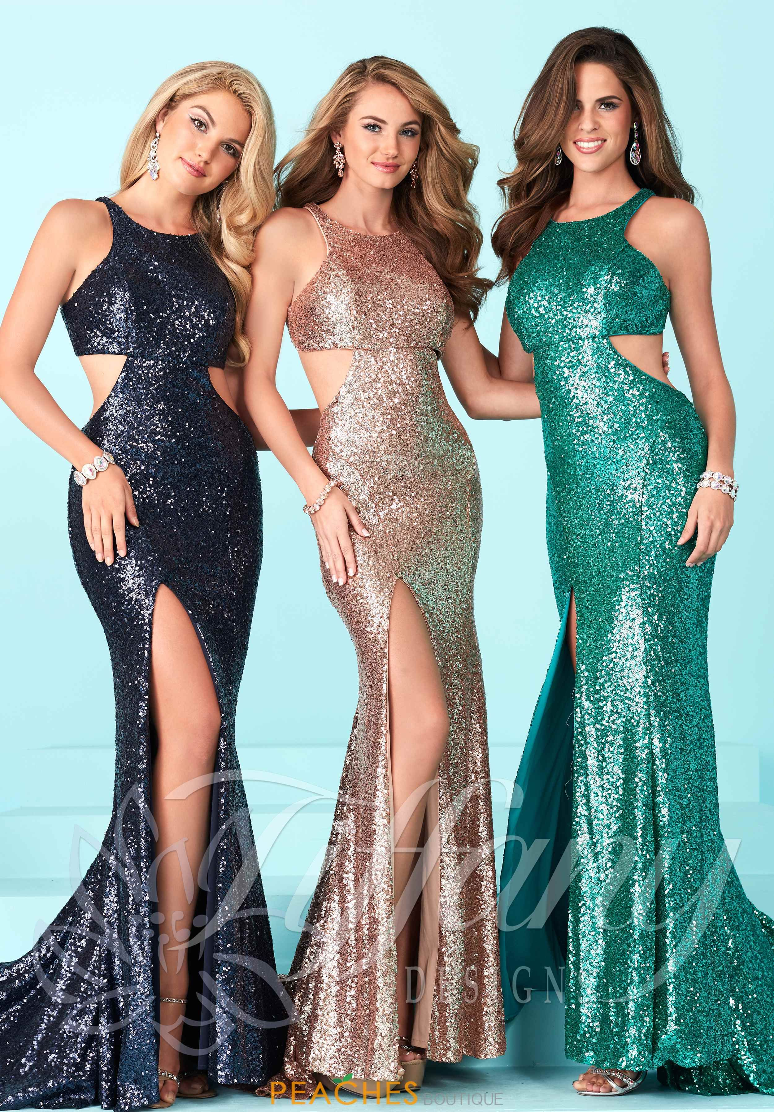 Tiffany Prom Dresses 16226 at Peaches Boutique | Prom | Pinterest ...