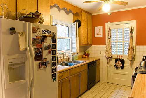 i love how warm it is my dream kitchen Pinterest Orange
