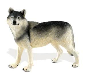 Schleich Arctic Wolf Wild Life Figure Toy Figure 14742 Adult Wolf