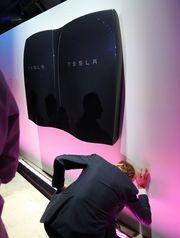 Tesla Powerwall batteries, based on the system they use for their cars, look to power homes starting in the summer of 2015.