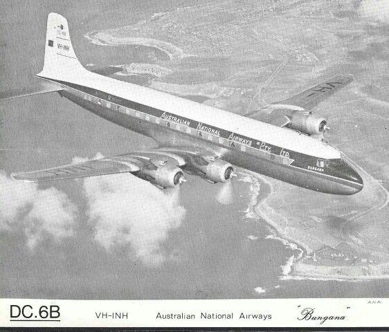 VH-INH DC-6B 'Bungana'
