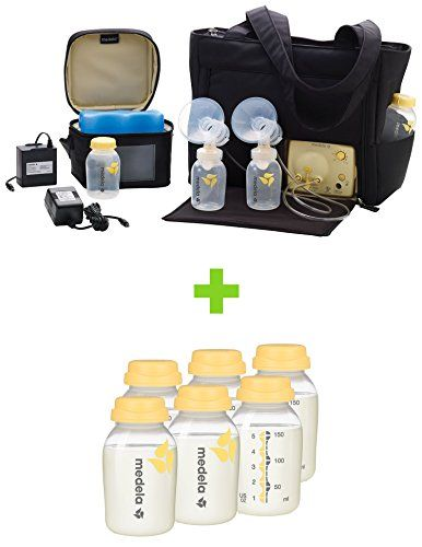 Medela Pump in Style Advanced Breast Pump with On the Go Tote with TEN Breast Milk Collection and Storage Bottles 5 Ounce >>> Be sure to check out this awesome product.Note:It is affiliate link to Amazon.