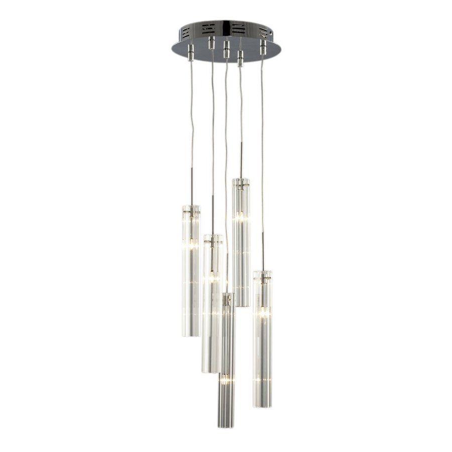 multi light pendant lighting fixtures. Galaxy Prisma 10-in Chrome Industrial Multi-Light Clear Glass Cylinder Pendant Multi Light Lighting Fixtures T