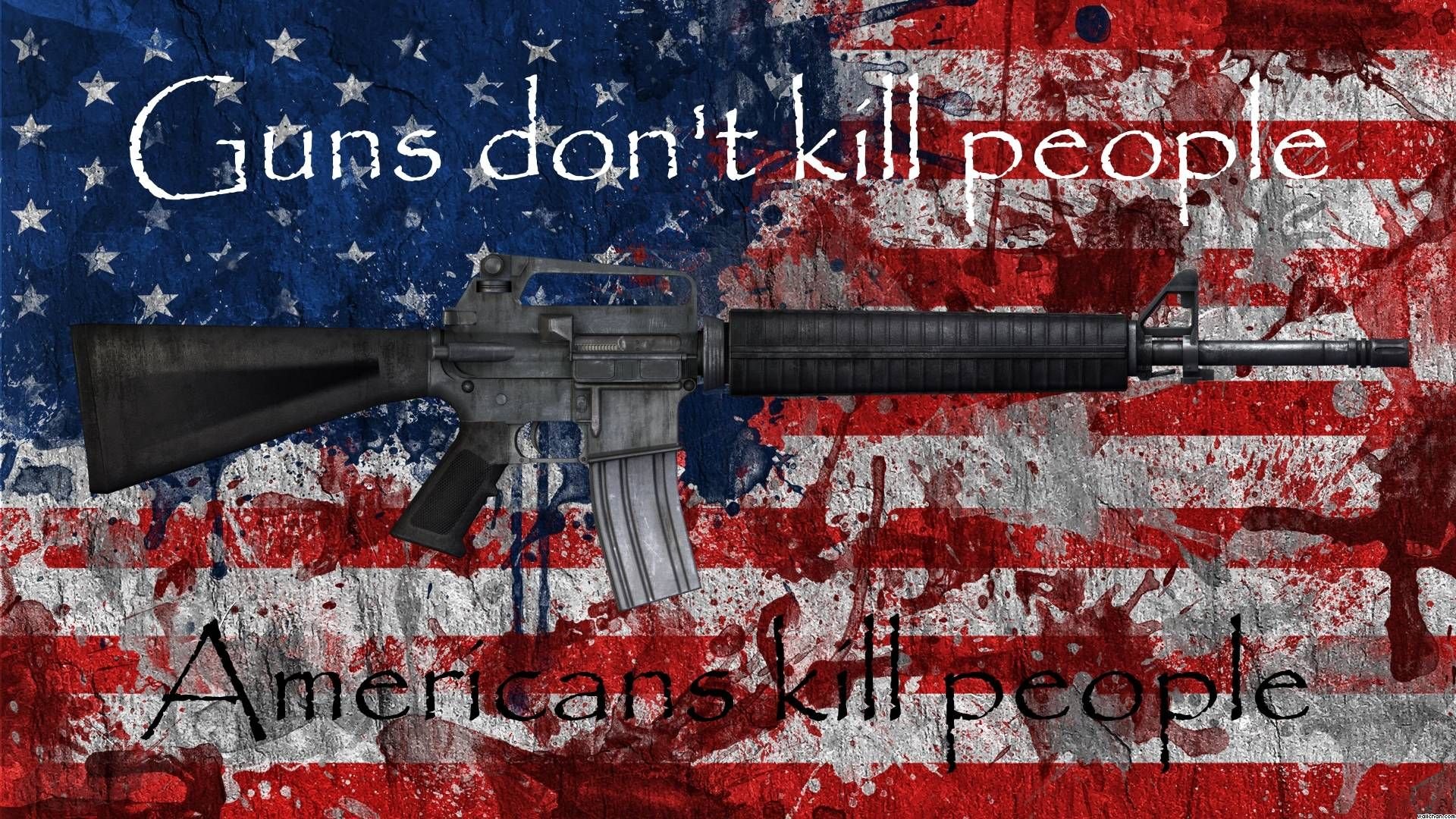 Guns Don T Kill People 1920x1080 Need Iphone 6s Plus