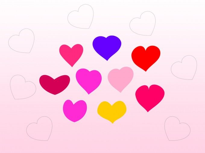 Download free Bundle of Hearts PPT #Backgrounds for #Templates on - love templates free