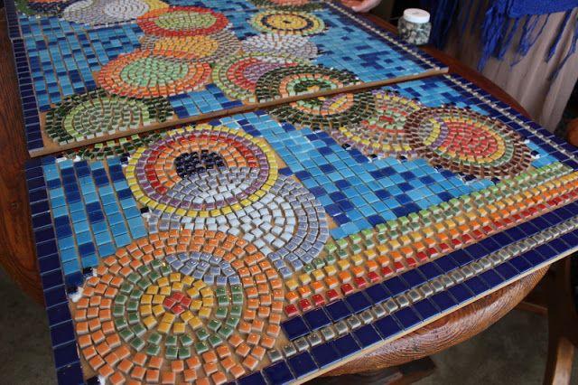 Trabajos Manuales Mosaico Jardín mosaiquismo Pinterest
